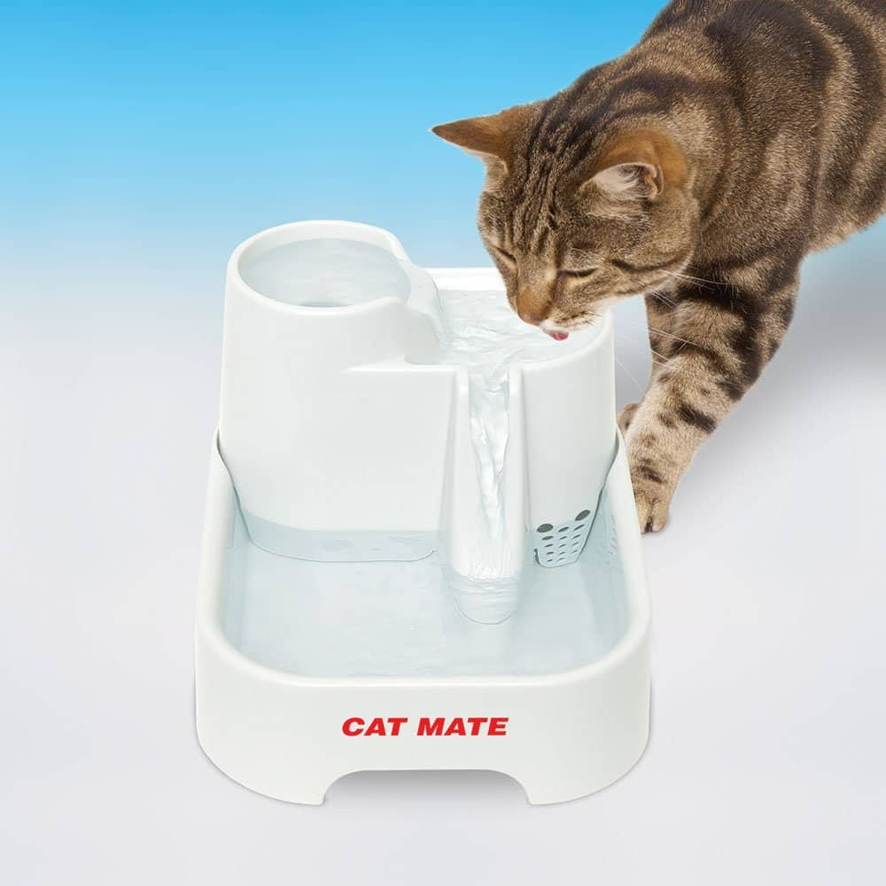 7. Cat Mate Pet Fountain - 70 Fluid Oz