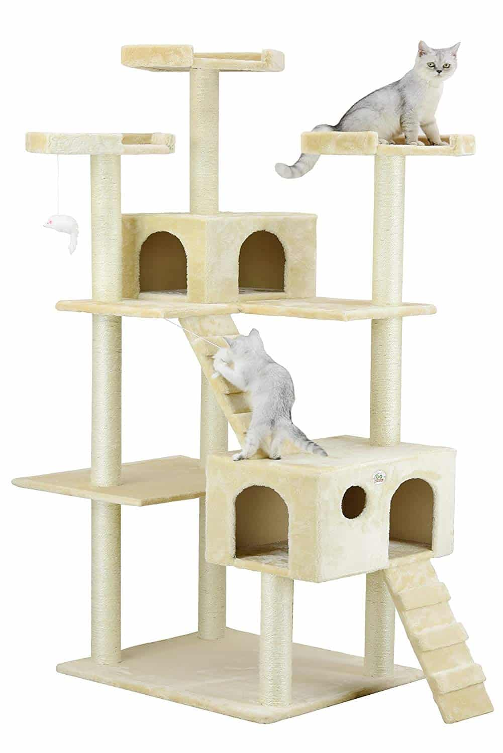 5. Go Pet Club Cat Tree House