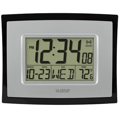 4. La Crosse Technology WT-8002U Digital Wall Clock