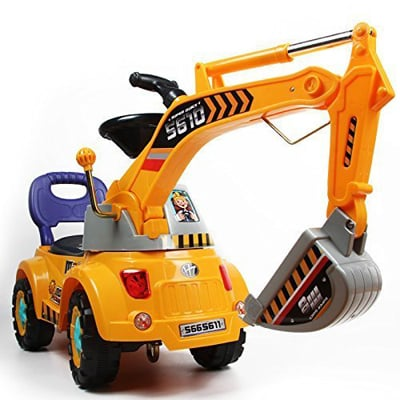 6. POCO DIVO Digger scooter, Ride-on excavator