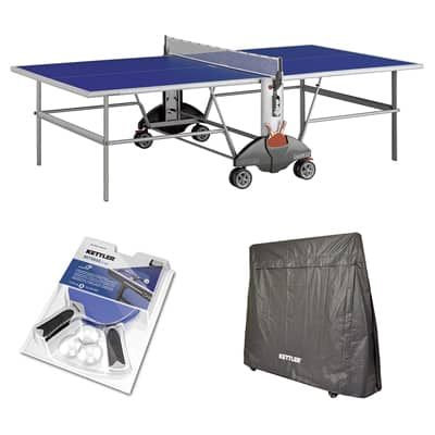 1. Kettler Champ 3.0 Outdoor Table Tennis Table