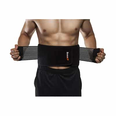 12. BraceUP Stabilizing Lumbar Brace Support Belt Dual Adjustable Straps