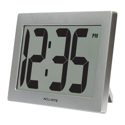 8. AcuRite 75102 Digital Clock with Intelli-Time Technology