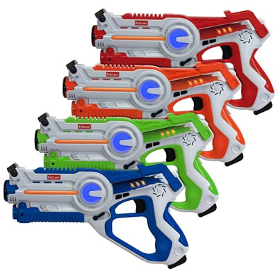 1. Kidzlane Infrared Laser Tag Set for Indoors and Outdoor