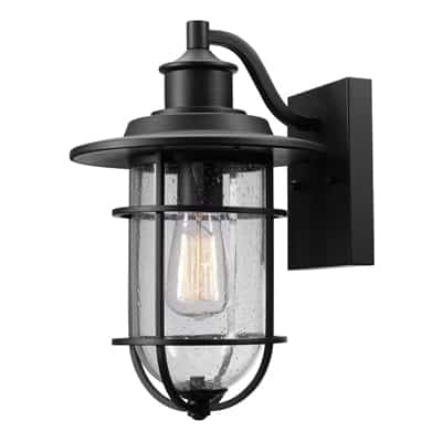 4. Globe Electric Indoor/Outdoor Wall Sconce