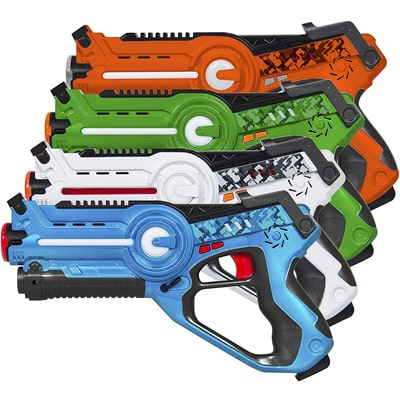 10. Best Choice Products Infrared Laser Tag Blasters