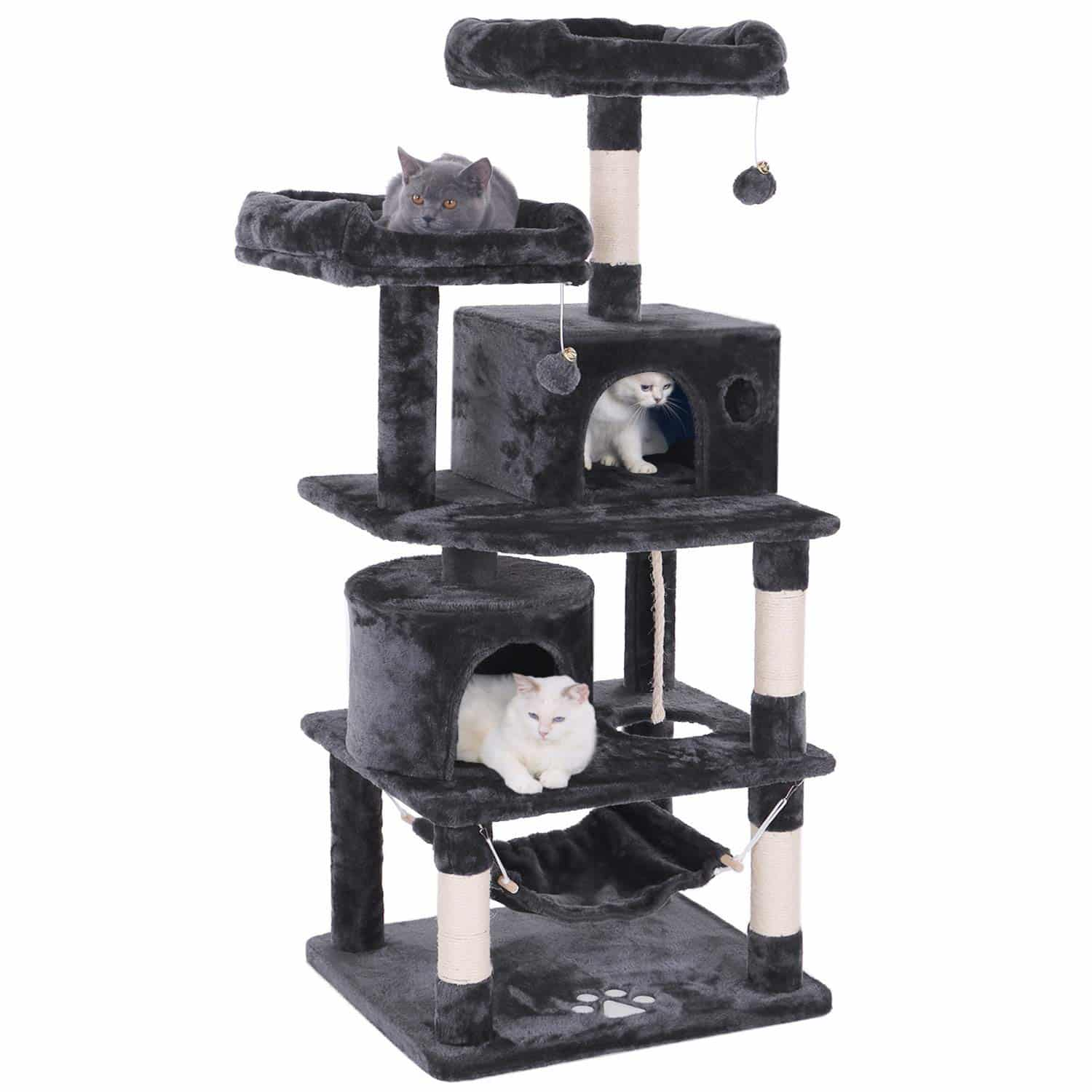 11. BEWISHOME Cat Tree Condo Furniture