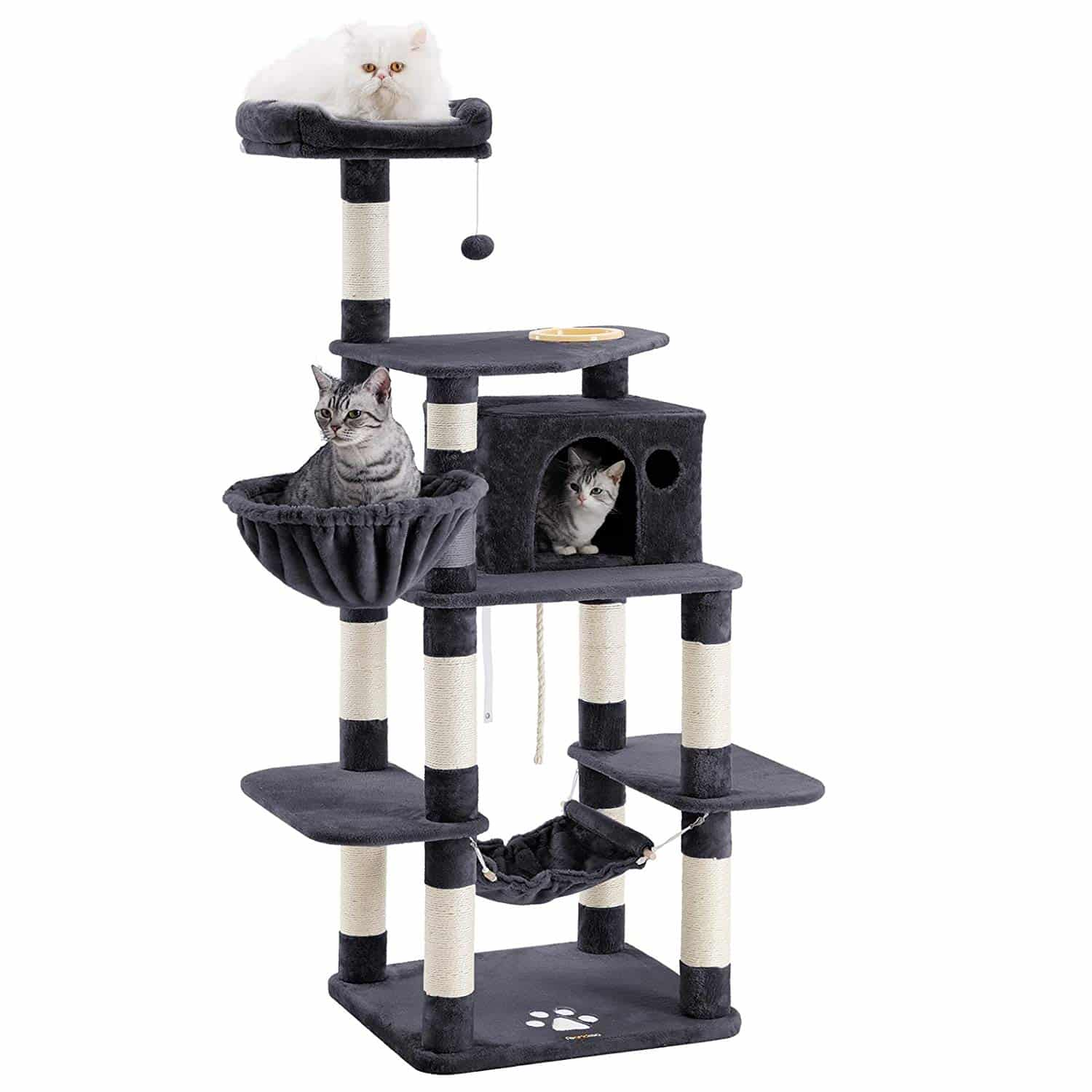 2. FEANDREA 68.5 inches Sturdy Cat Tree