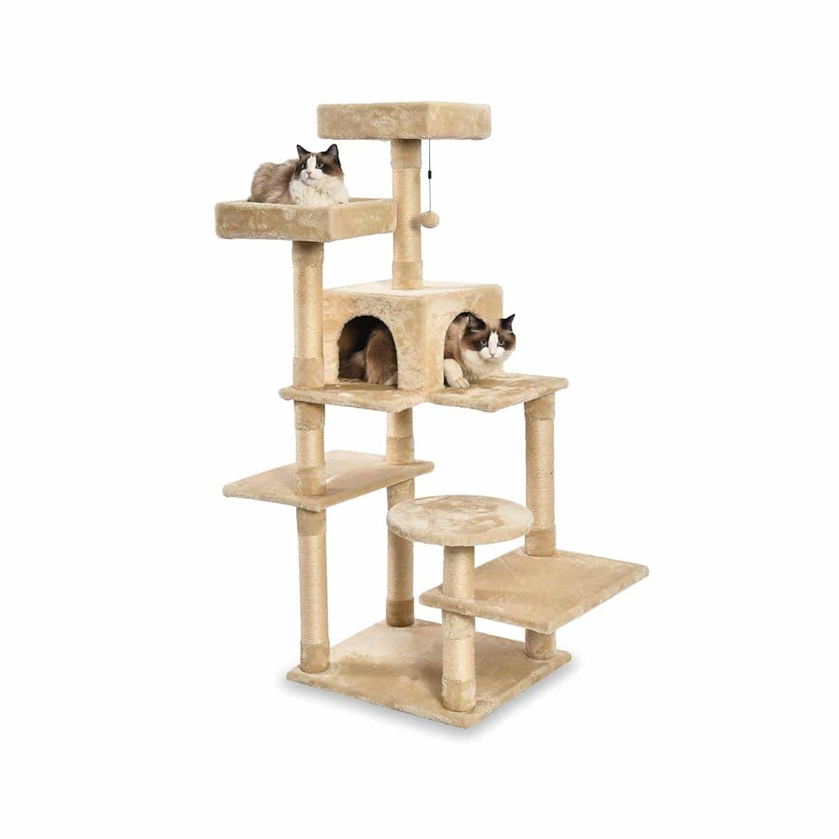 1.    AmazonBasics Multi-Level Cat Tree