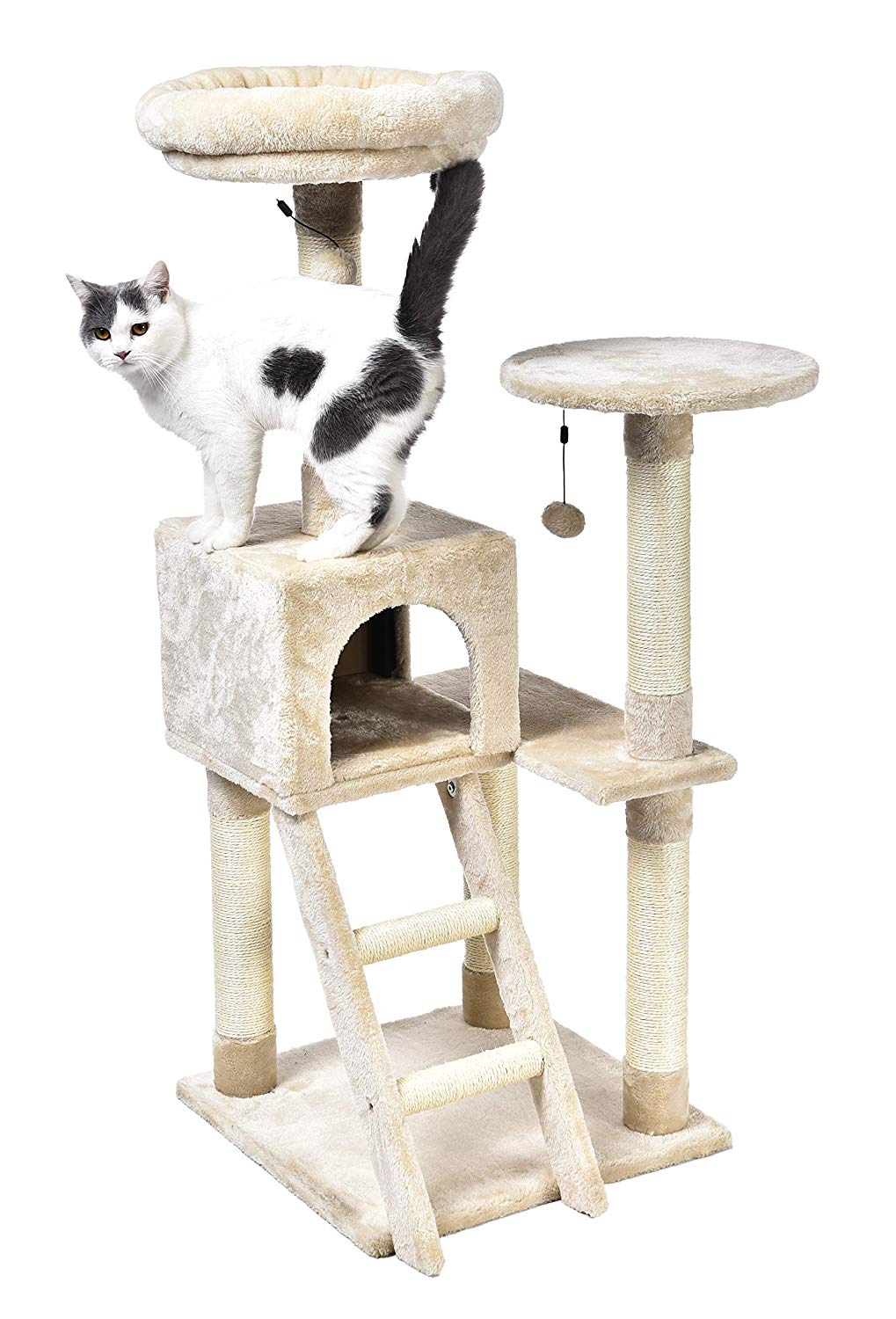8. AmazonBasics Cat Tree with Platform, X-Large Sizes