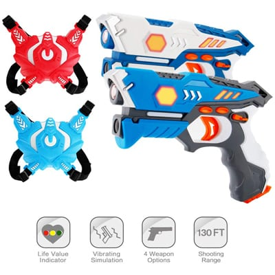 5. ComTec Laser Tag Sets with Gun for Kids