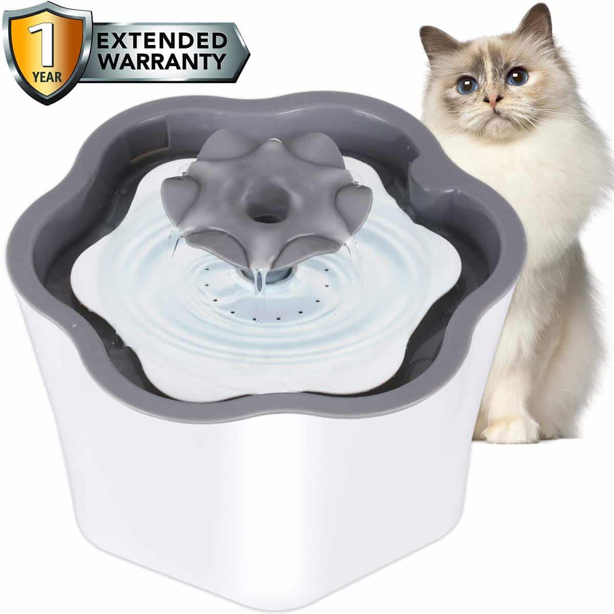 6. Cat Water Fountain with Filter 2L