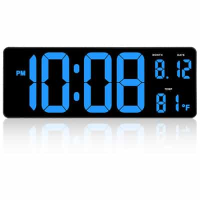 1. DreamSky 14.5-Inch Extra-Large LED Digital Clock