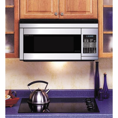 8. Sharp R1874T 850W Over-the-Range Convection Microwave