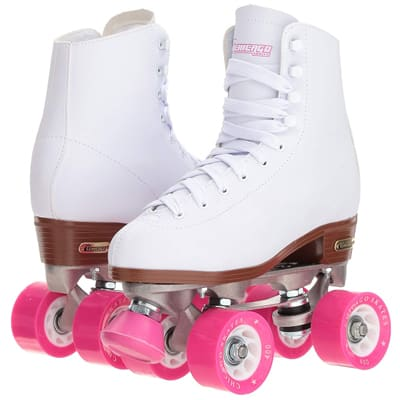 1. Chicago Classic White Rink Roller-skates for Women