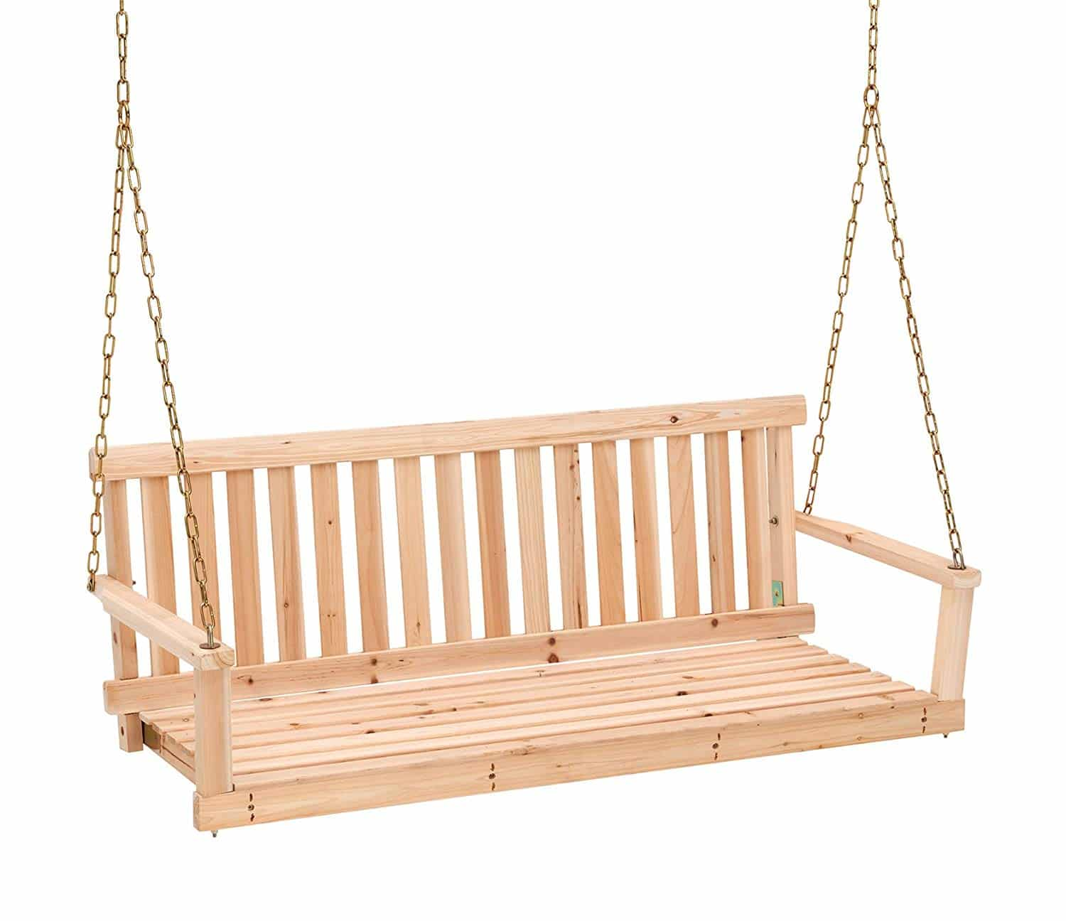 2.   Jack post Jennings traditional swing seat