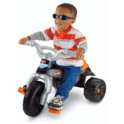 9. Fisher-Price Harley-Davidson Tough Trike