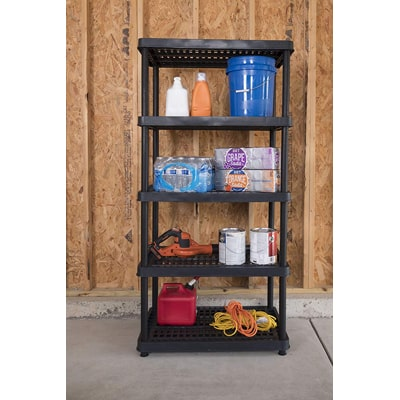6. Keter 5 shelf heavy duty