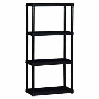 1. Gracious Living 4 tier shelf unit