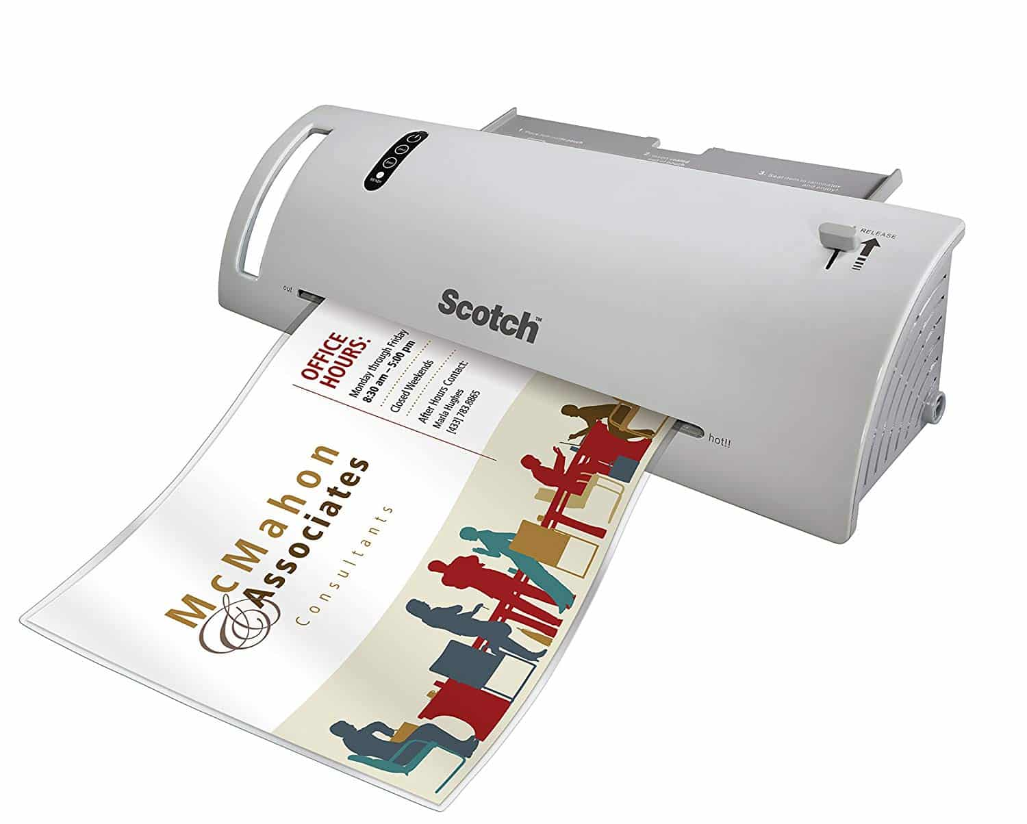 11. Scotch TL902VP Thermal Laminator
