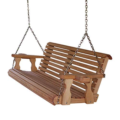 1.      Amish 5ft heavy-duty porch swing