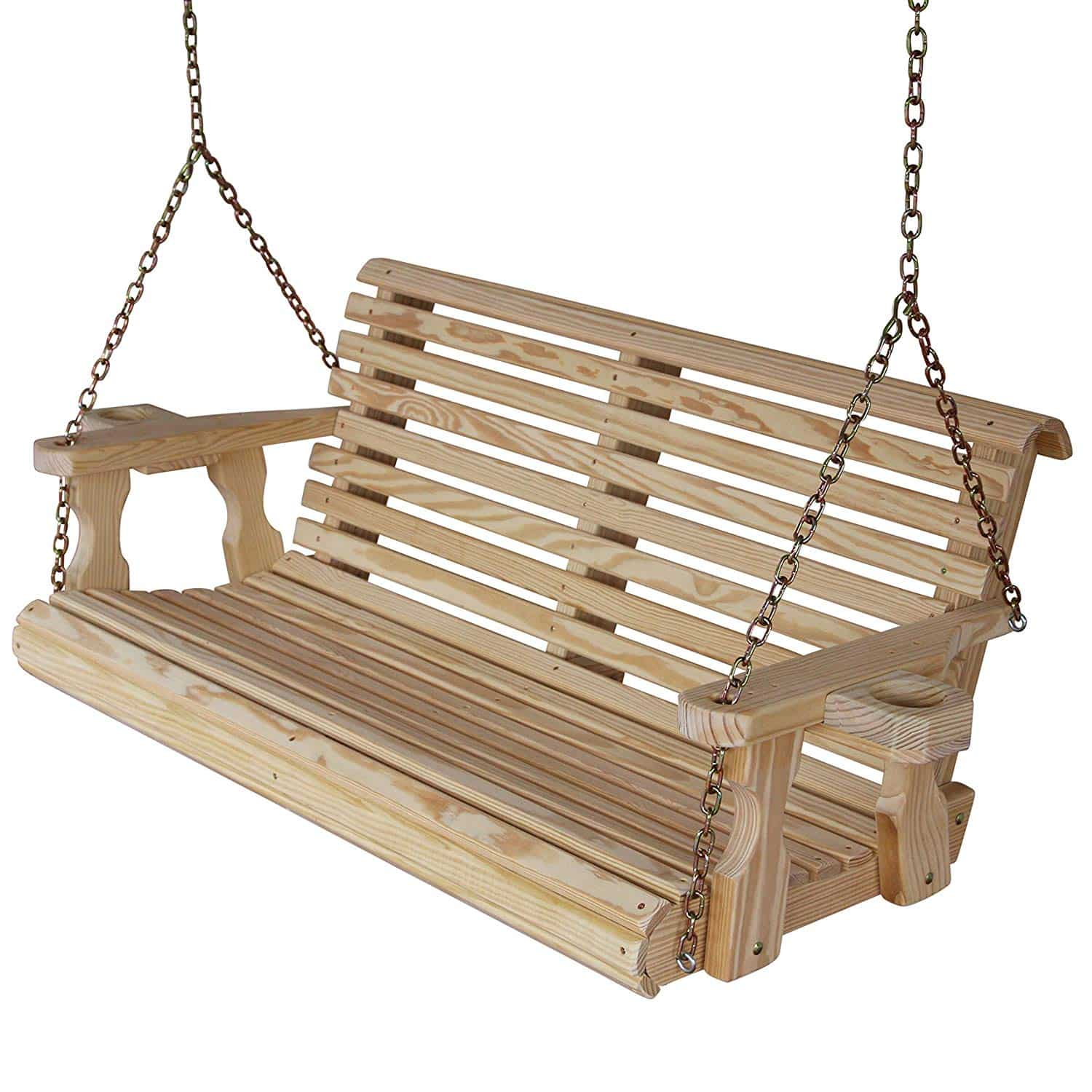 10. CAF Amish Heavy Duty Porch swing