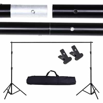 5. AW 10ft Adjustable Photography Background Support Stand