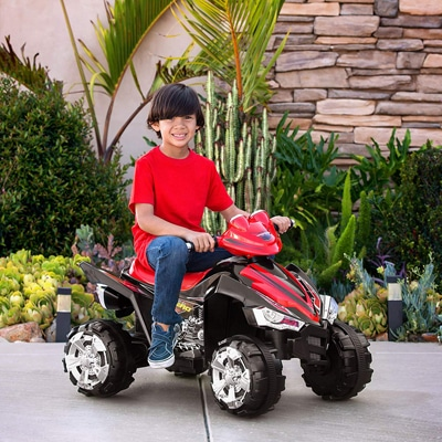 5. Best Choice Products 4-Wheeler Quad ATV Ride-On Toy
