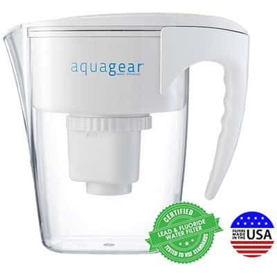 7. The AquaGear Water Filter Pitcher