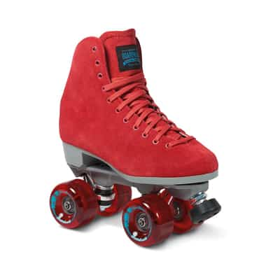 12. Sure-Grip Red Outdoor Skating Boots