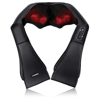 1. Naipo Shiatsu Back and Neck Massager