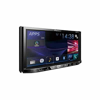 10. Pioneer AVH-X490BS Double Din Bluetooth In-Dash Car Stereo Receiver