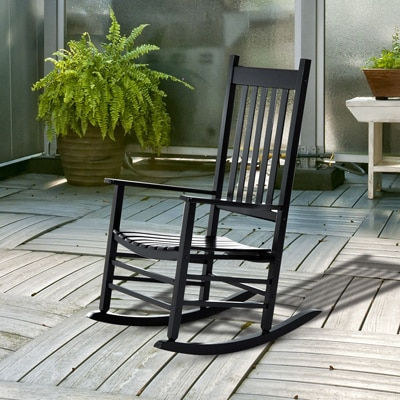 12. Outsunny Porch Rocking Chair