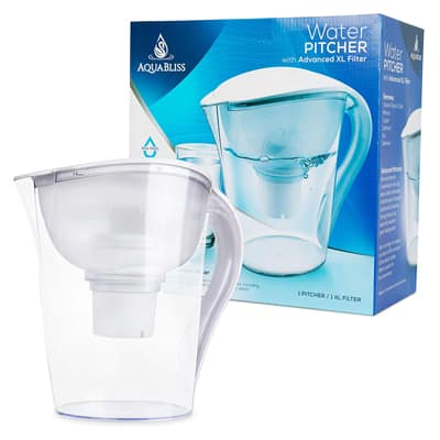 9. The AquaBliss 10-cup Water Pitcher