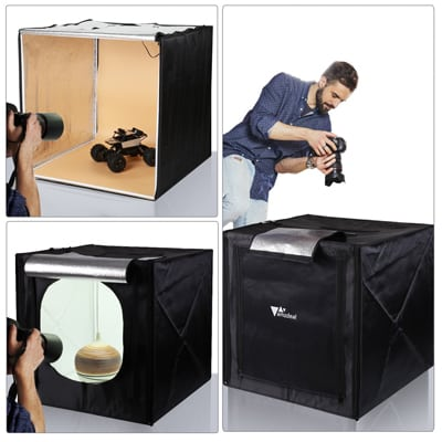 11. Amzdeal Photo Light Box
