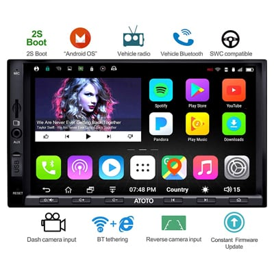 1.  ATOTO A6 Double Din Android Car-Navigation Stereo