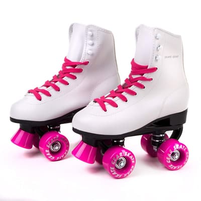 11. C Seven Roller Outdoor Faux Leather Skates