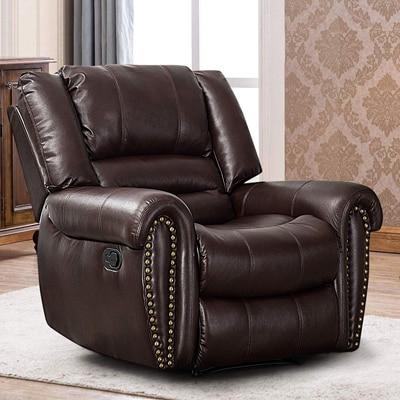 3. CANMOV Chair and a Half Recliner Leather