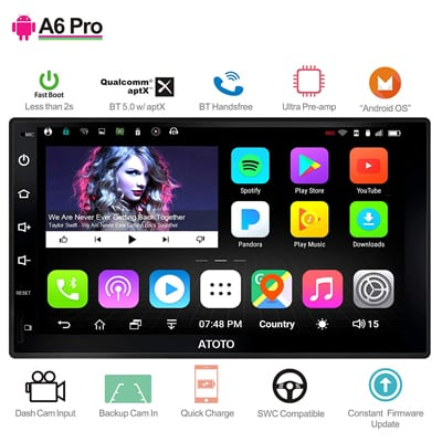 5. ATOTO A6 2DIN Android Car Navigation Stereo