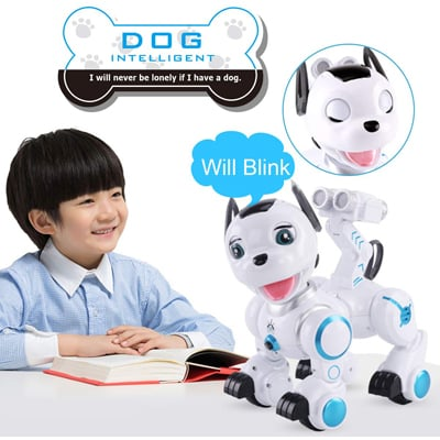 10 Best Robot Dog Toys in 2019 - Closeup Check