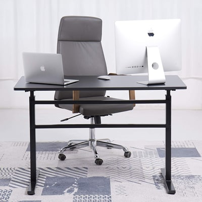 8. UNICOO's Crank Adjustable Home & Office Stand Up Desk