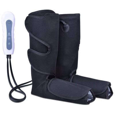 2. Satu Brown Air Compression Leg Massager