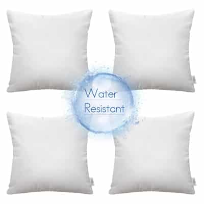 9. Ashler Indoor and Outdoor Hypoallergenic Water Resistant Pillow