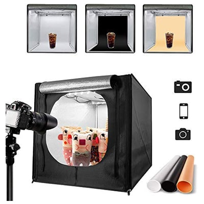3. MountDog Photo Studio LED Light Box