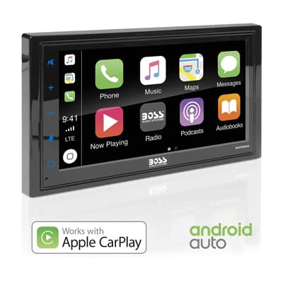 4. BOSS Audio Systems Android Auto Car Multimedia Player