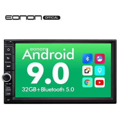 2. Eonon Head Unit Android Auto and Car play Android