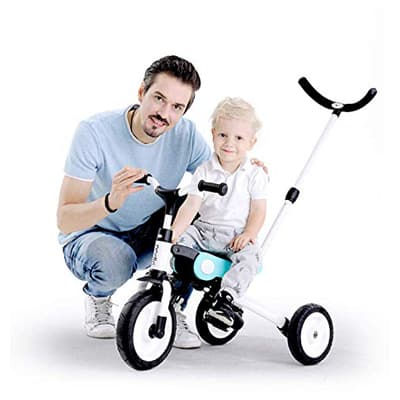 3. Rolling King 3-in-1 Tricycle for Kid