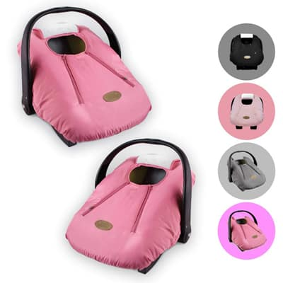 2. Cozy Cover Infant Car Seat Cover (Pink)