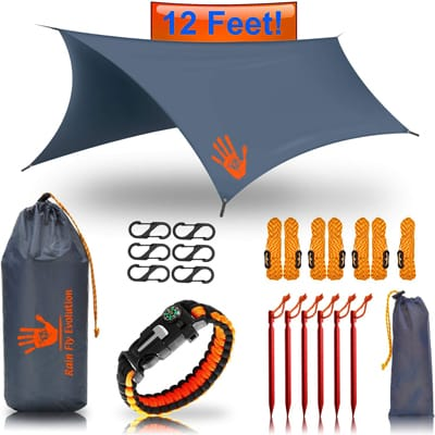 1. Best Choice Products Hammock RAIN Fly Tent TARP