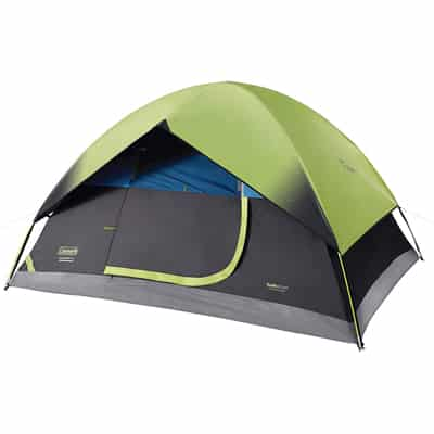 7. Coleman Dark Room Sundome Tent